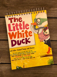 The Little White Duck - Notebook