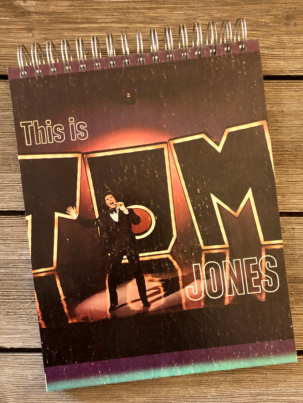 This Is Tom Jones - Notebook