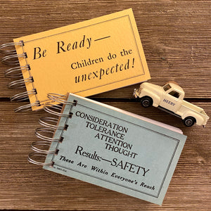 Driver Safety Flash Card Notepads - Set One