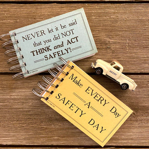 Driver Safety Flash Card Notepads - Set Five
