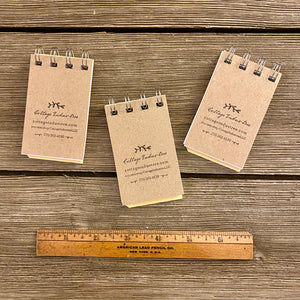 Mini Sight Word Flash Card Notepads - Horse, Barn, Nest