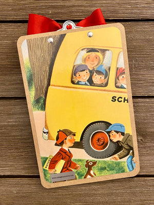 "Richard Scarry - Memo Clipboard ""School Bus"""
