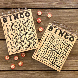Bingo Notepads - Set #2