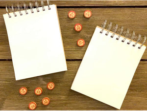Bingo Notepads - Set #1