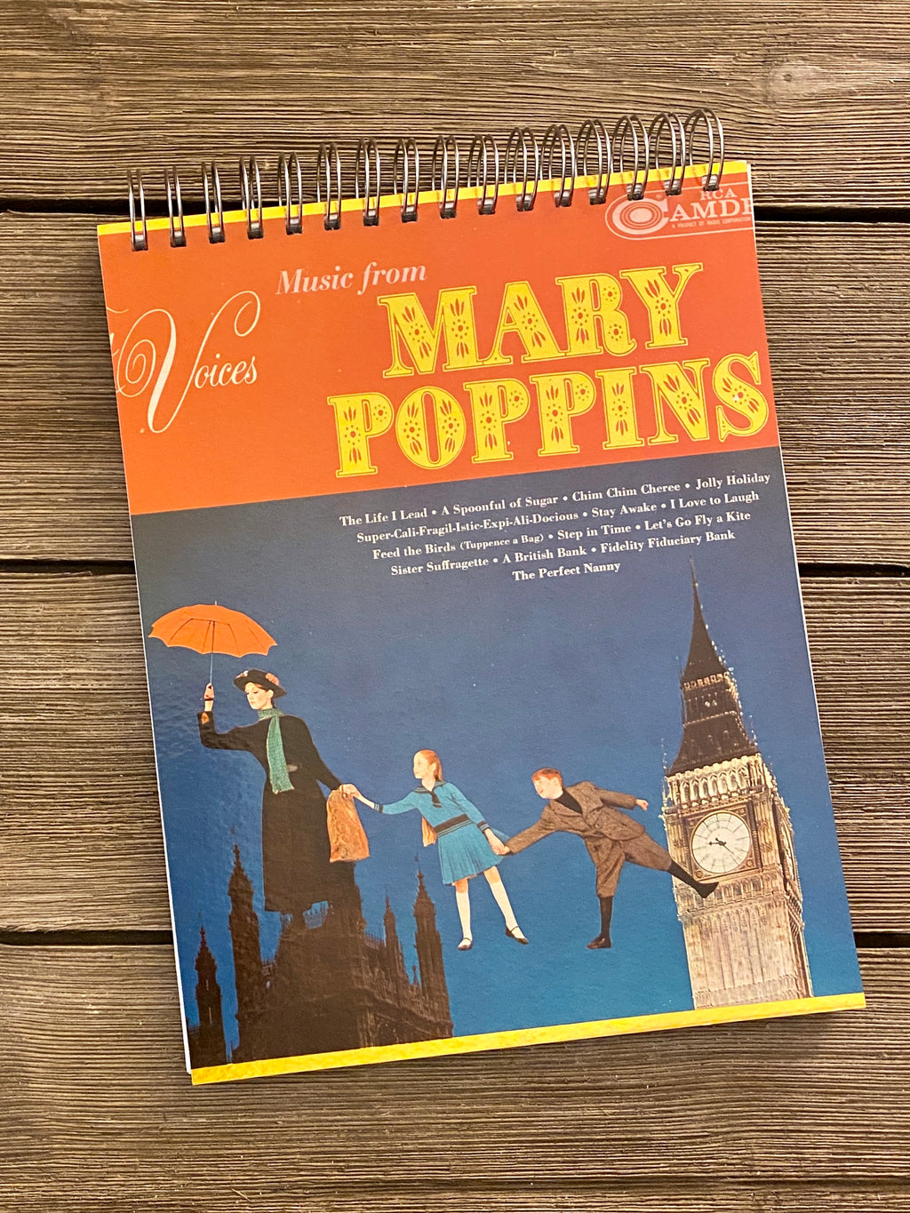 Mary Poppins - Notebook