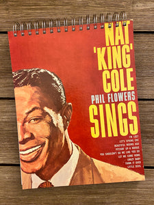 "Nat King Cole ""Phil Flowers Sings"" - Notebook"