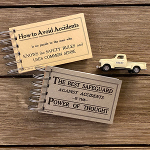 Driver Safety Flash Card Notepads - Set Eight