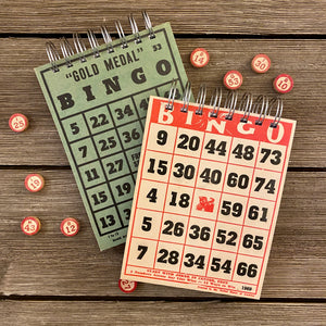 Bingo Notepads (red and green) - Set #2