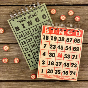 Bingo Notepads (red and green) - Set #6