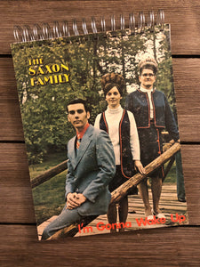 The Saxon Family - Notebook