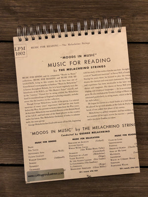 Music for Reading - Notebook