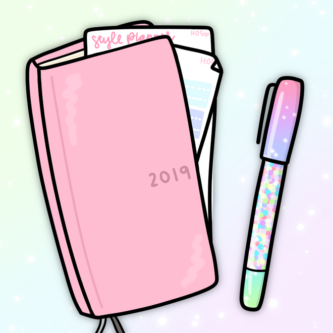 Hobonichi Weeks Stickers