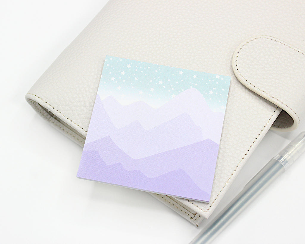 Night Sky Sticky Notes
