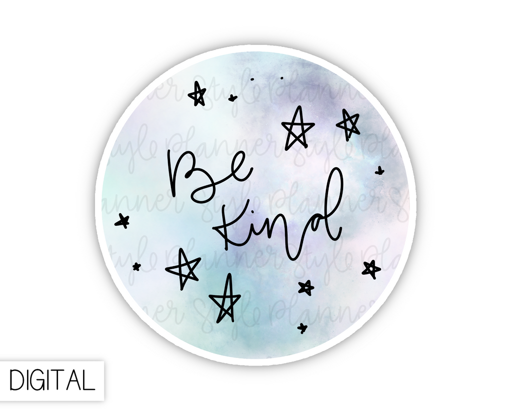 DIGITAL Be Kind | Freebie