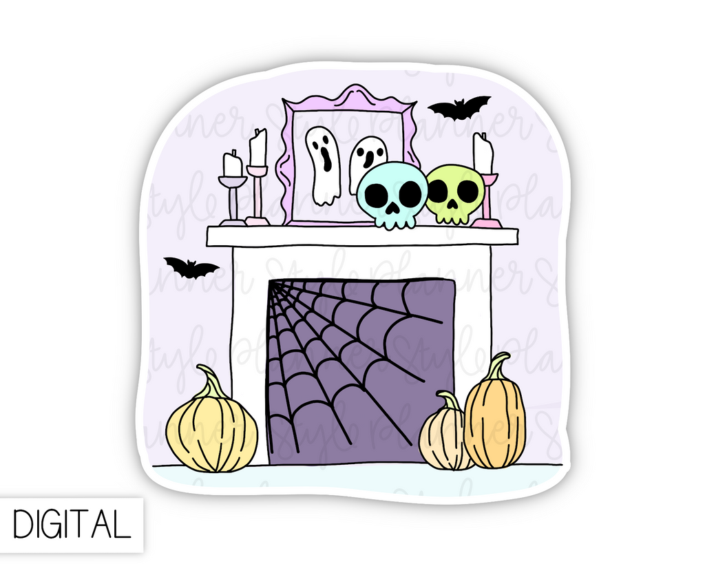 DIGITAL Spooky Mantle