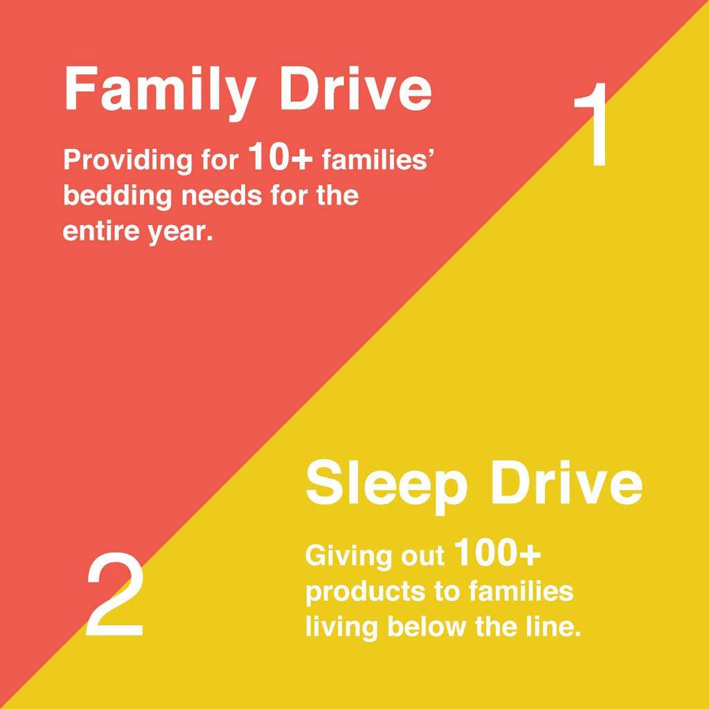Sleep Zone® Charity Families
