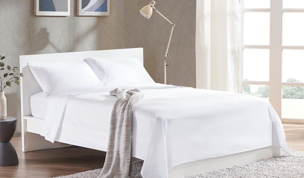 sleep zone white bed sheet whiten your white sheets