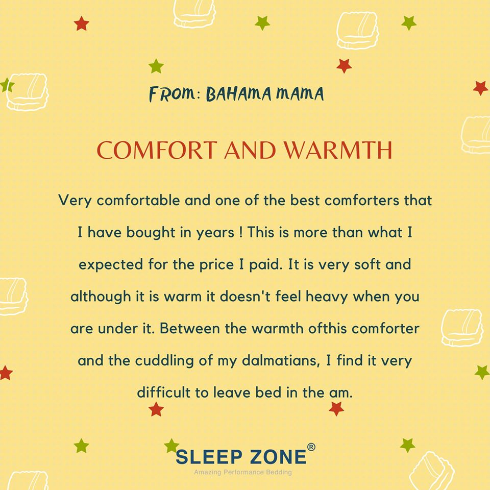 SleepZone,SleepBetter,Bedding,Comforter,Duvet,Review