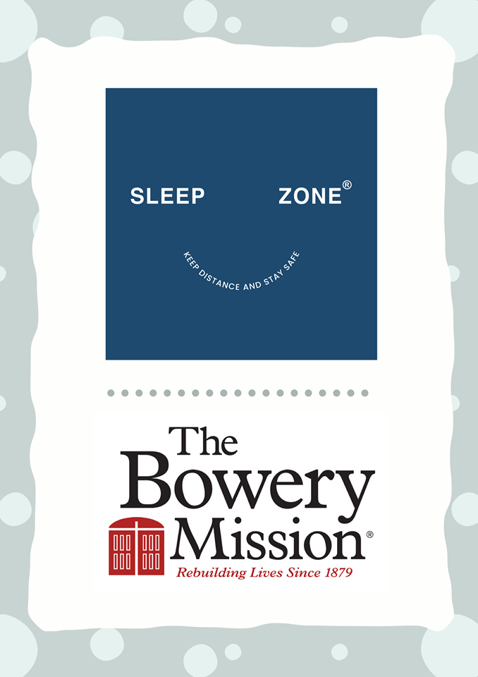 SleepZone,Charity,BoweryMission,FightCOVID19,KeepSafe