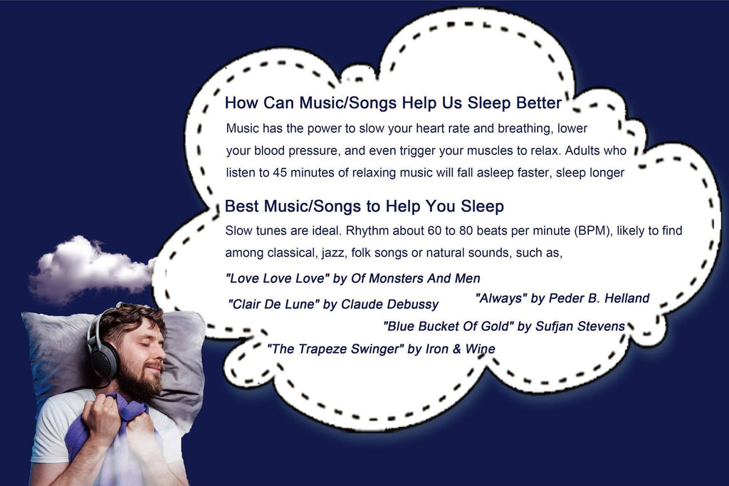 Sleep-Zone-Bedding-sleep-tricks-music