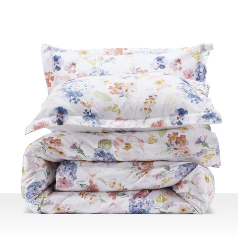 Cottonnest® Digital Printed Floral Blossoms Duvet Cover Sets