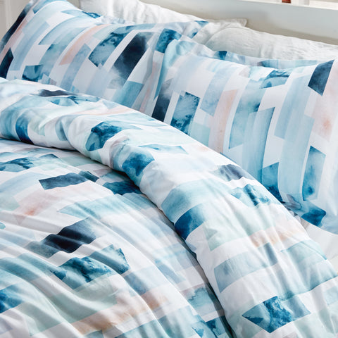 Cottonnest® Digital Printed Geometry Ink Duvet Cover Sets