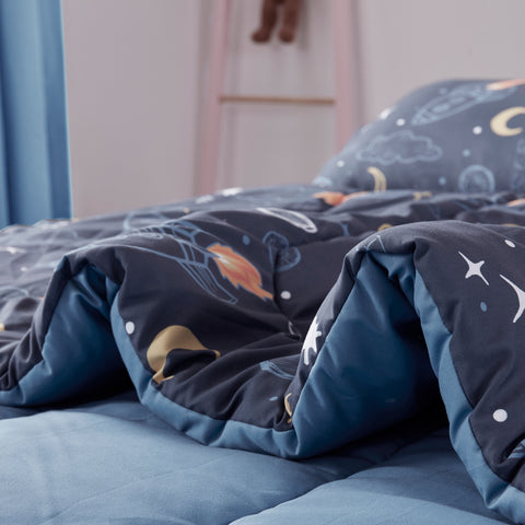 Sleep Zone® Space Adventure Kids Comforter Set
