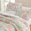 Load image into Gallery viewer, Sleep Zone® Printed Classic Paisley Quilt Set with Pillowcases