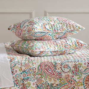 Sleep Zone® Printed Classic Paisley Quilt Set with Pillowcases