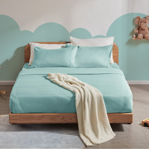 Sleep Zone® Solid Kids Sheet Set