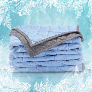 Sleep Zone® Athlete-Grade Cooling Throw Blanket