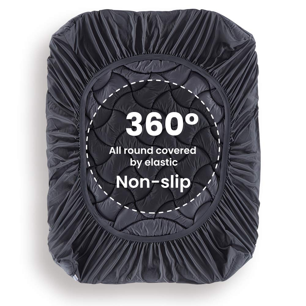 Sleep Zone® Premium Athletic Grade Ergonomic Matrress Pad