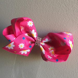 Flower Loopy Bow 3.5""