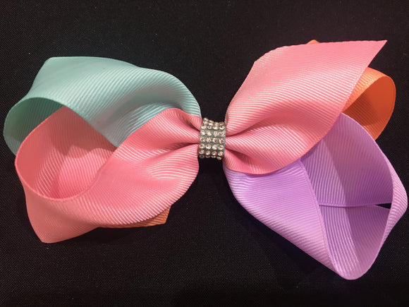 "5.5"" Bow using 4 colours #2"