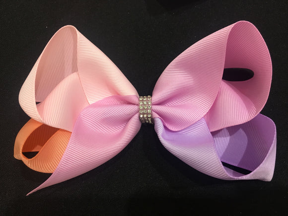 "5.5"" Bow using 4 colours"