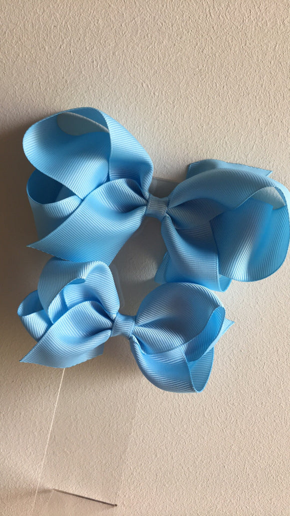 "5.5"" School Loopy Bow"