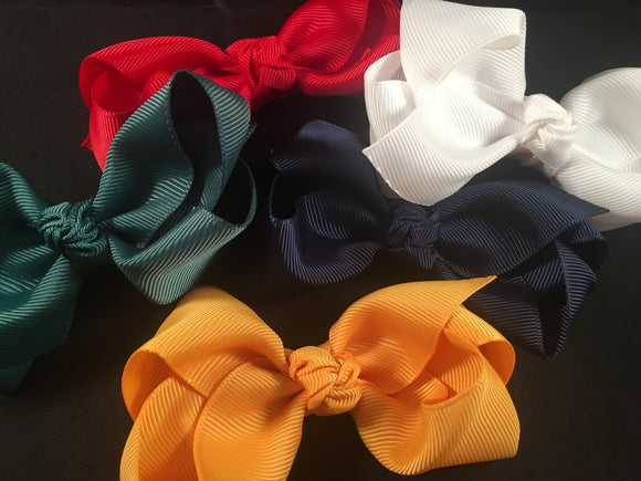 School Bow #2 (various colours)