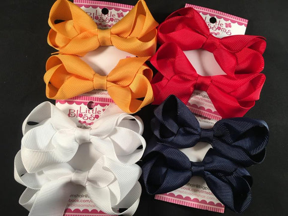 School Bows #2 (set of 2)