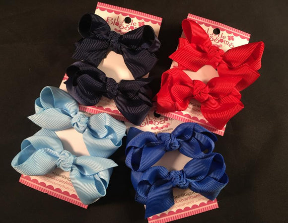 School Bows #1 (set of 2)