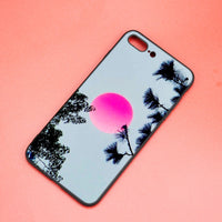vaporwave and chill iPhone cases