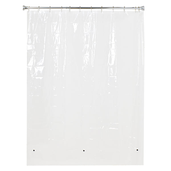 Loft97 3G Clear PEVA Shower Curtain Liner with Magnets,72""