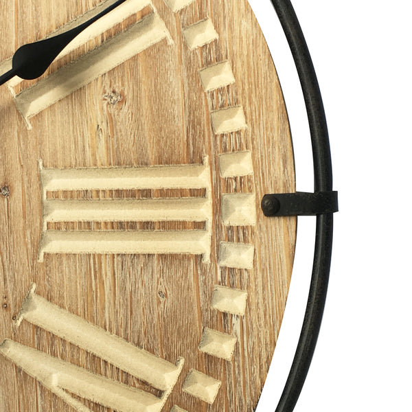 "Roman Round Wall Clocks, 24"" Diameter"