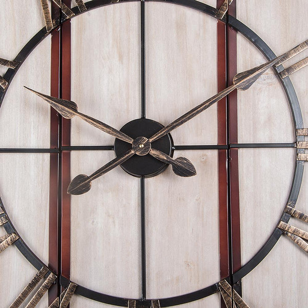 Piece Oversize Roman Square Wall Clocks