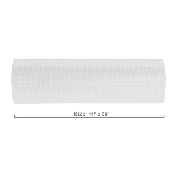 "Loft97 2 Pack Vacuum Food Sealer Rolls, 11"" x 50'"