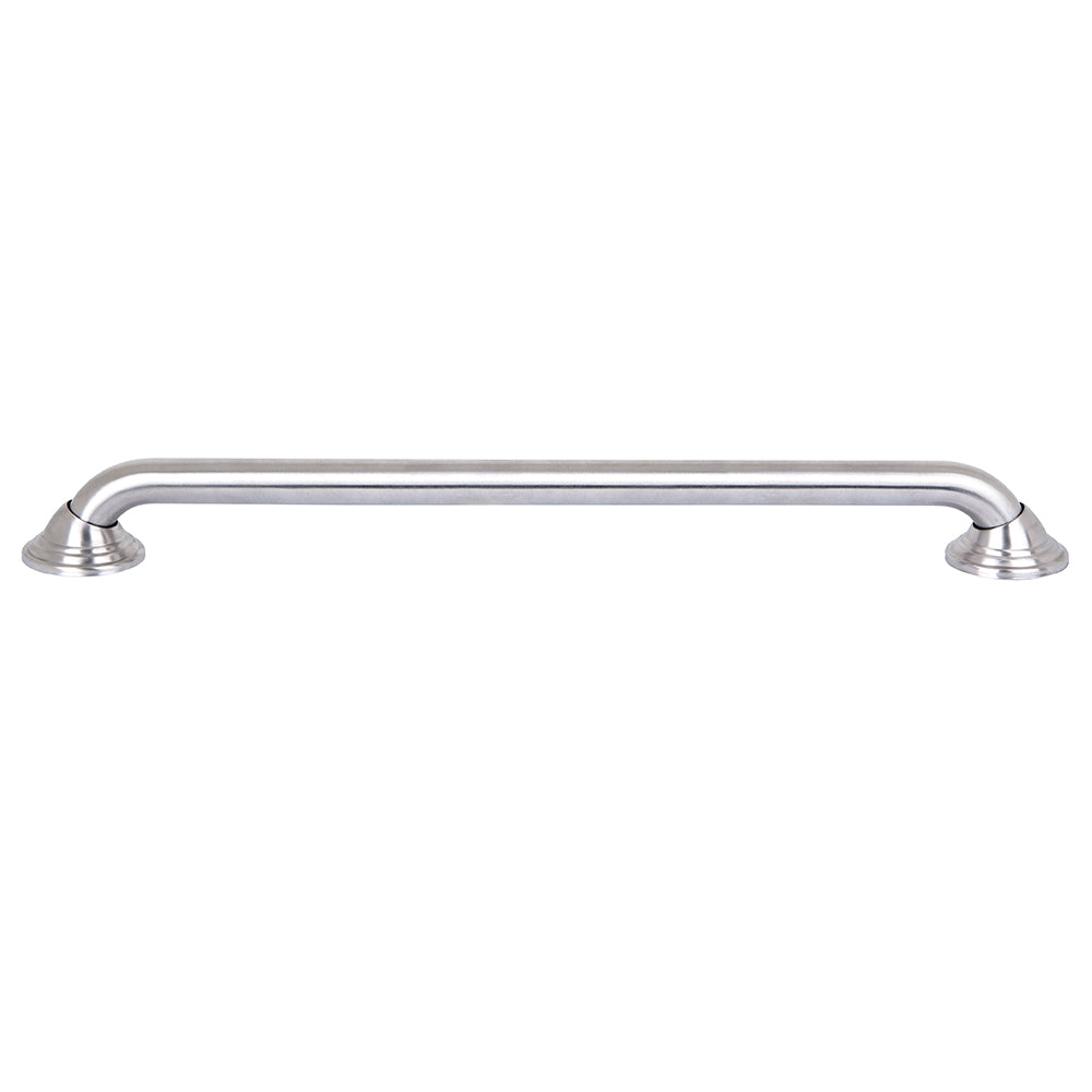 "Loft97 Decorative Shower Safety Grab Bar, 24"", Brushed Nickel"