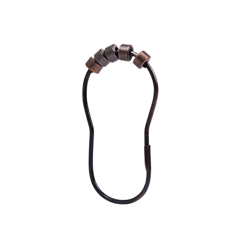 Loft97 Oval Roller Shower Hook, Oil Rubbed Bronze
