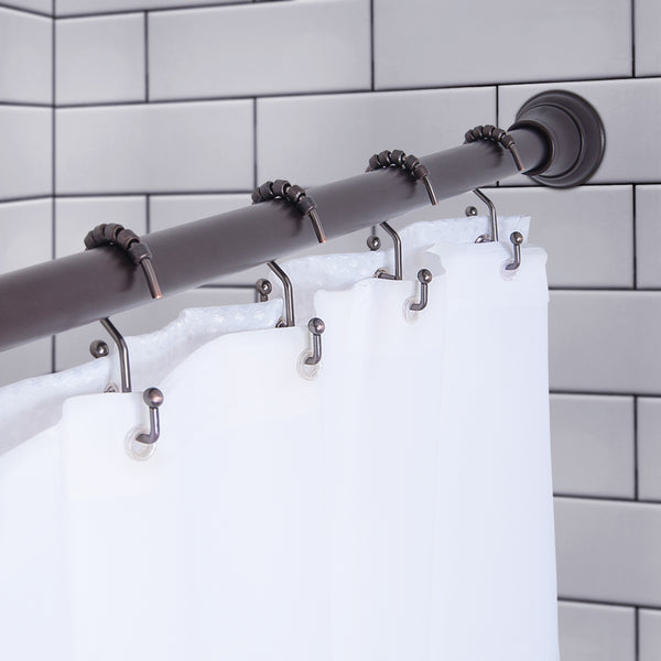 Loft97 Double Roller Shower Hook, Oil Rubbed Bronze