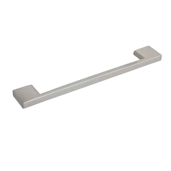 "Loft97 Brax II Cabinet Pull, 6.3"" Center to Center, Brushed Nickel"