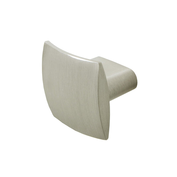 Rhonda Contoured Square Cabinet Knob, Oil Rubbed Bronze or Brushed Nickel - Loft97 - 8