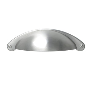 "Loft97 Elgin Bin Pull Handle, 2.6"" Center to Center, Brushed Nickel"